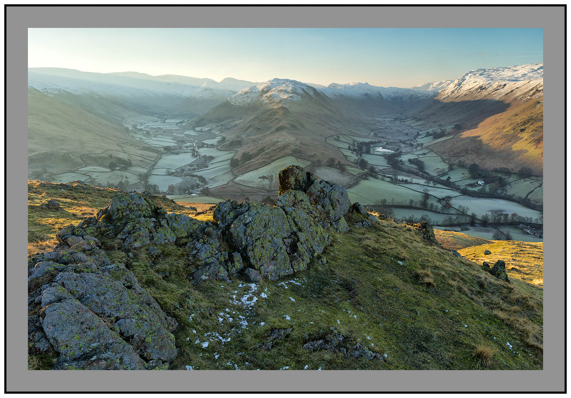 S2015400 Early morning light on Martindale and Boredale seen from Hallin Fell