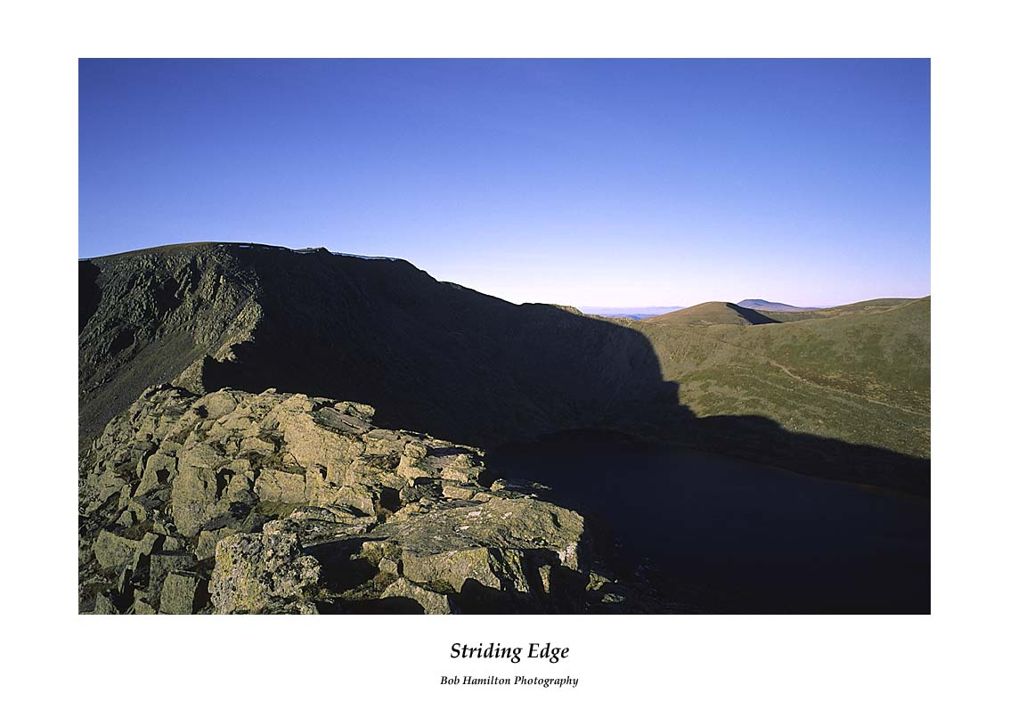 Striding Edge from High Spying How