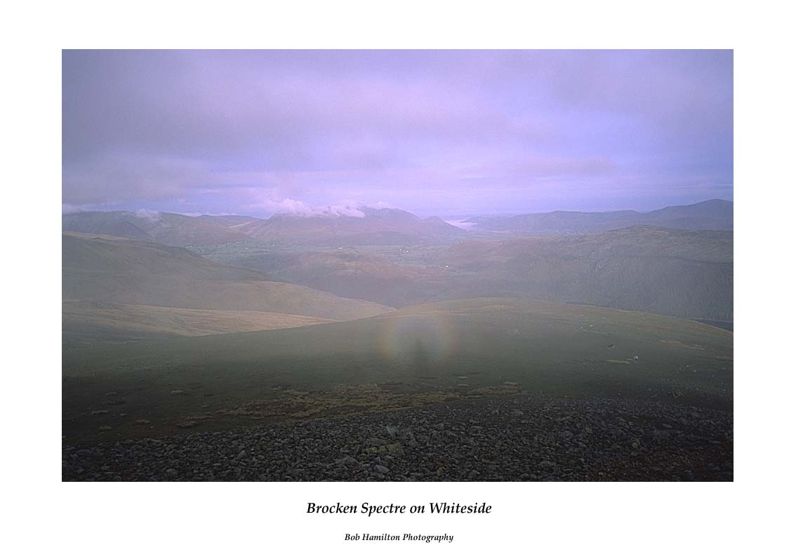 Brocken Spectre on Whiteside