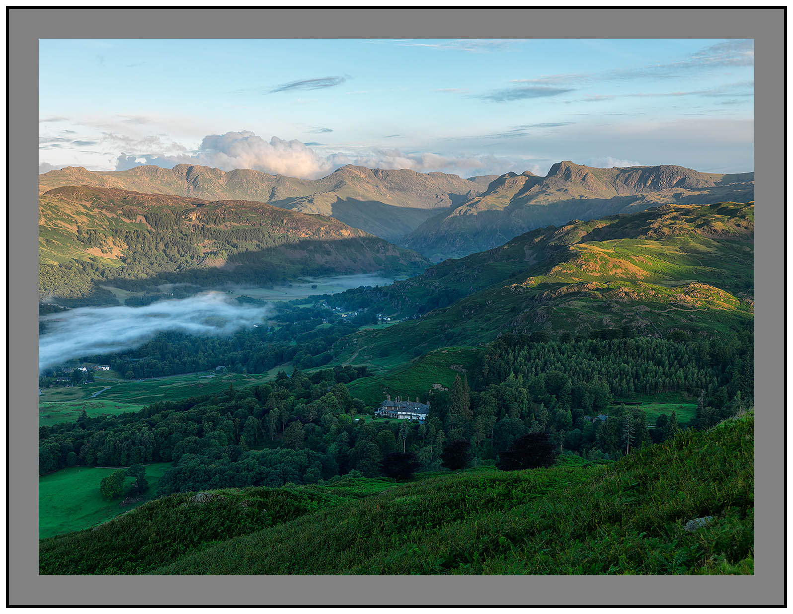 A9152 Early morning light on Langdale