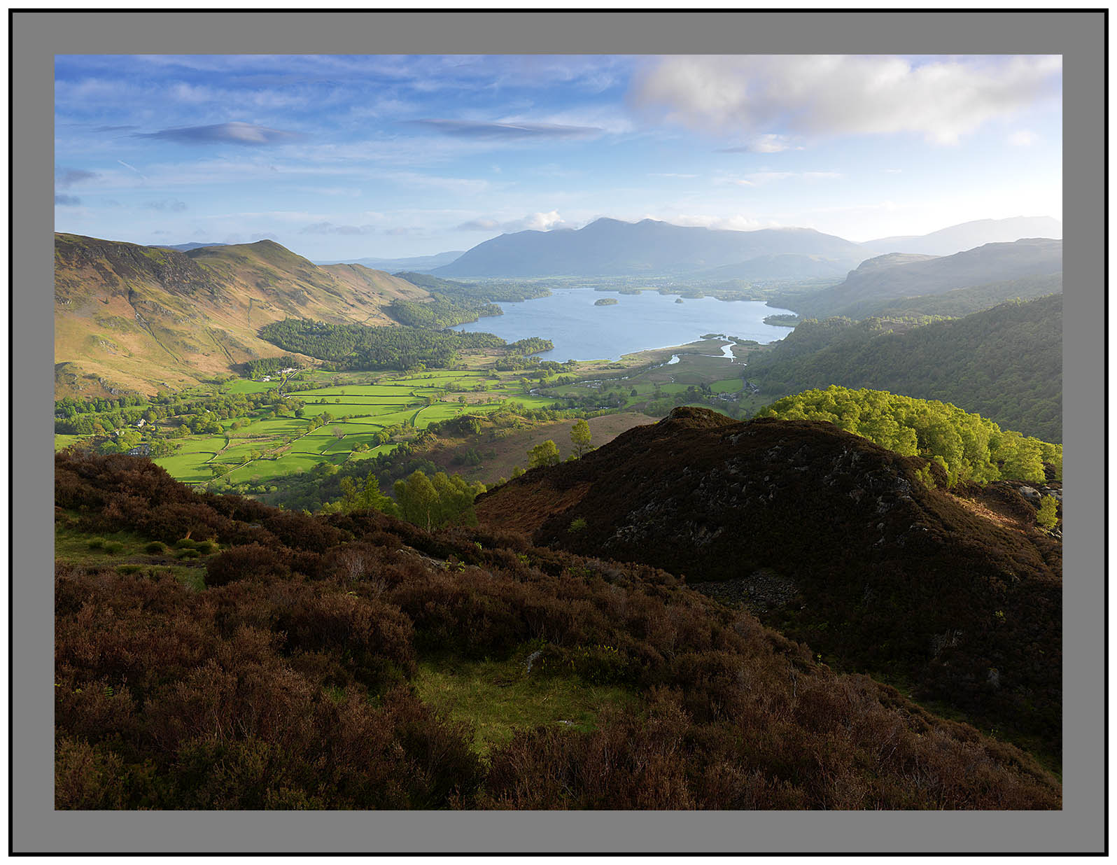 A 3250 Derwent Water from KIngs How