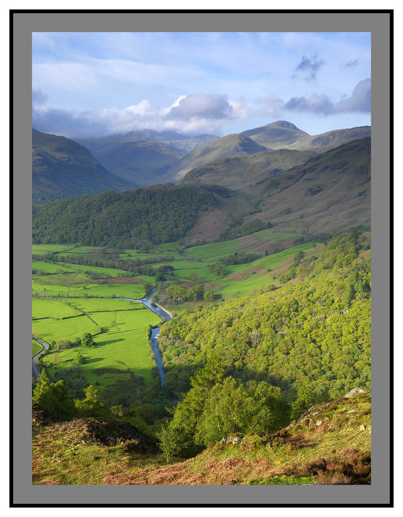 A 3343 Borrowdale from Kings How