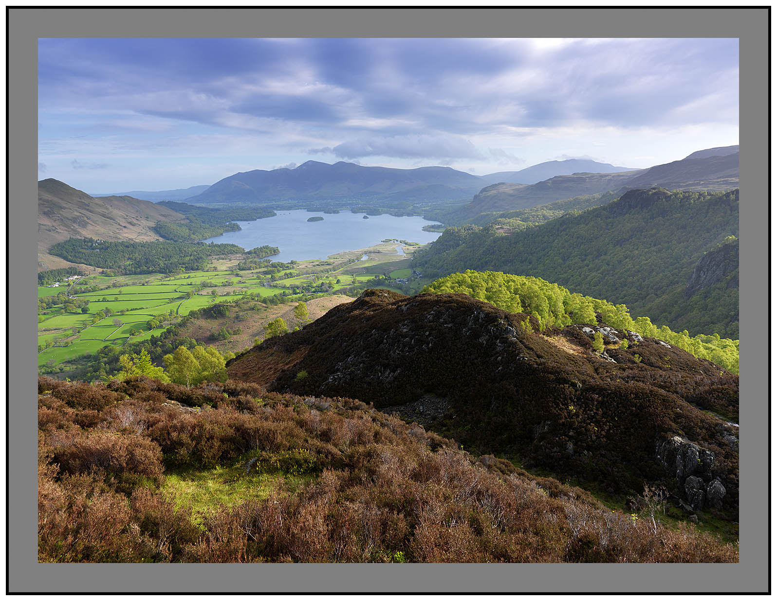 A 3356 Derwent Water from Kings How