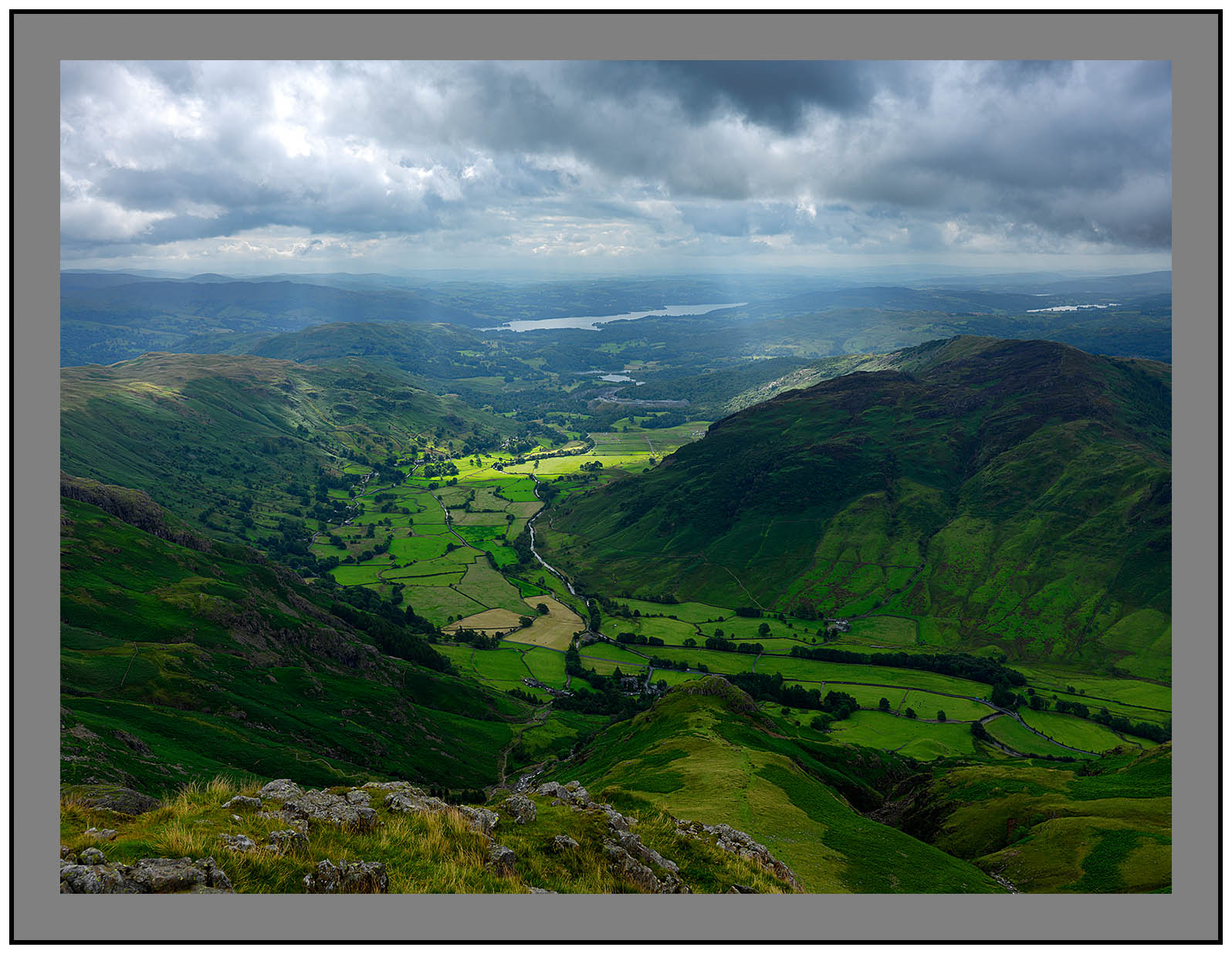 A 5378 Langdale and Windermere from Harrison Stickle