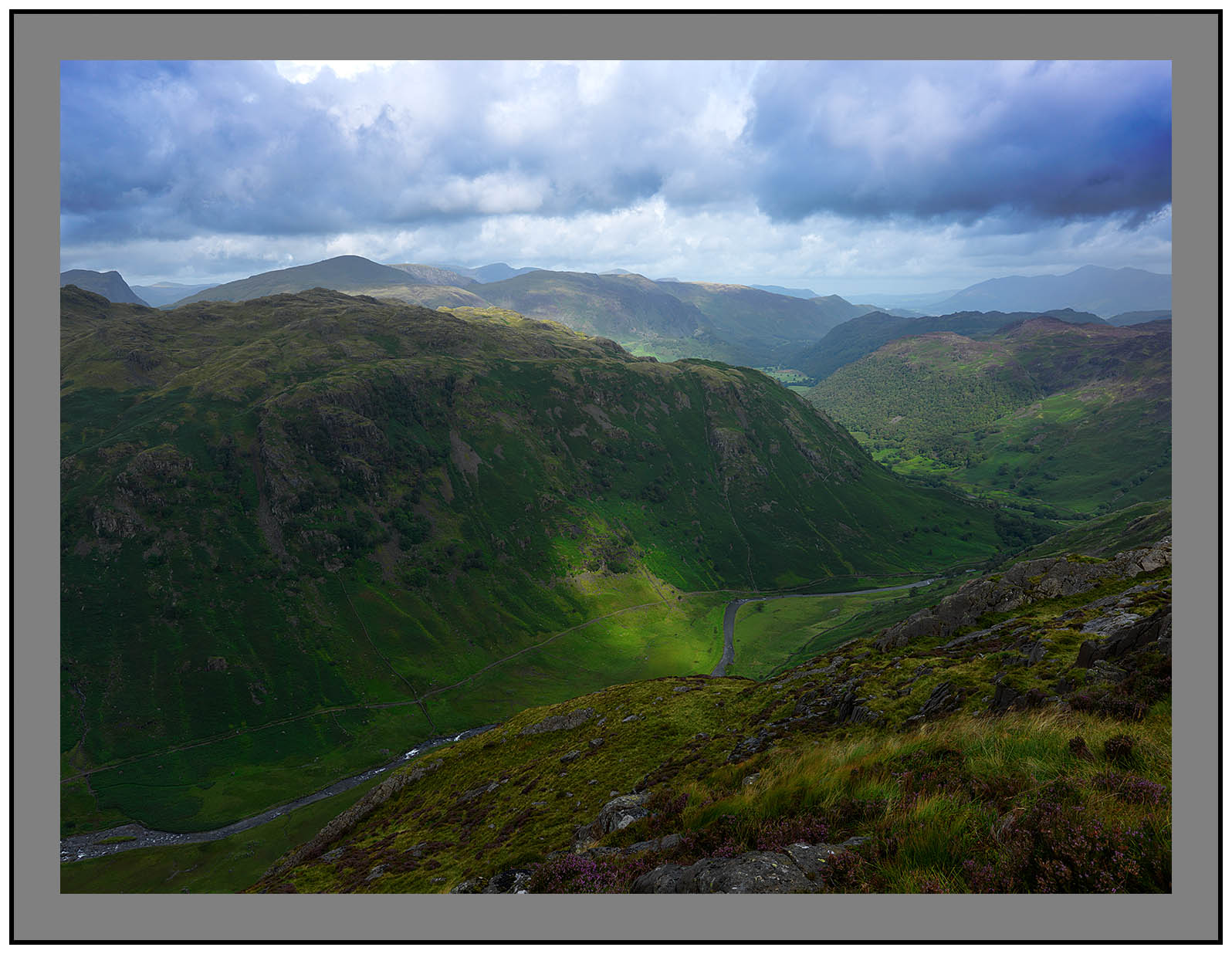 A 5805 Langstrath and Borrowdale from Sergeant's Crag