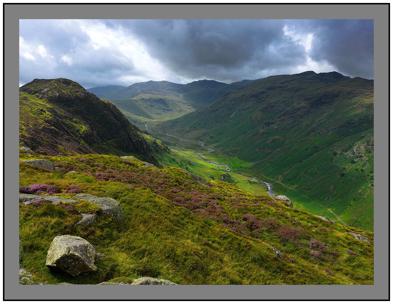 A 5950 Sergeant's Crag and Langstrath from Eagle Crag