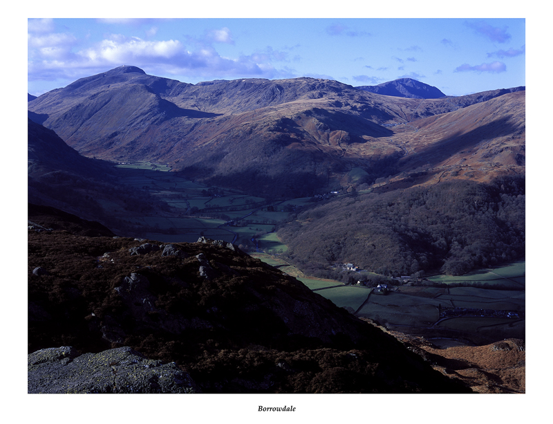Borrowdale from Great Crag