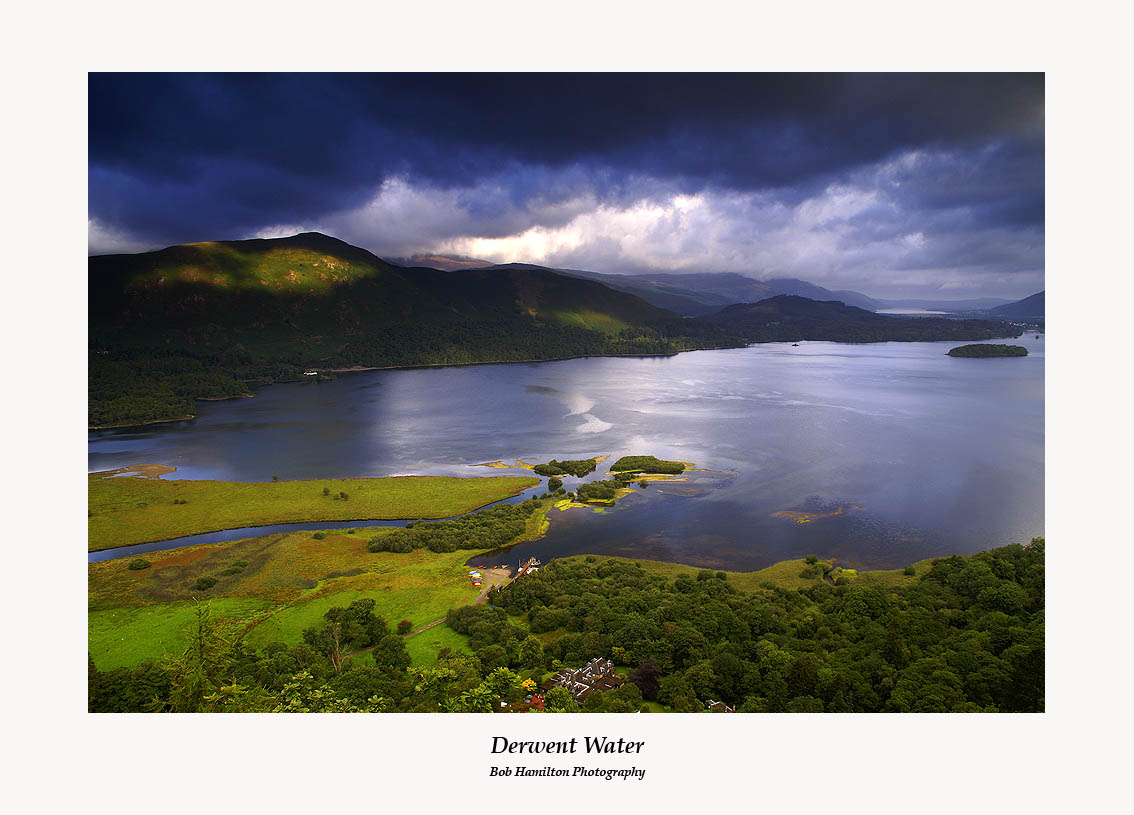 Derwent Water from Ashness Fell