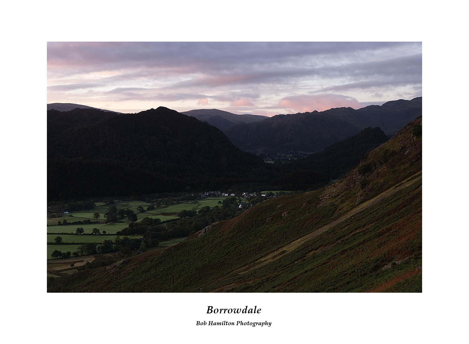 DSF1123 First light on Borrowdale from Cat Bells