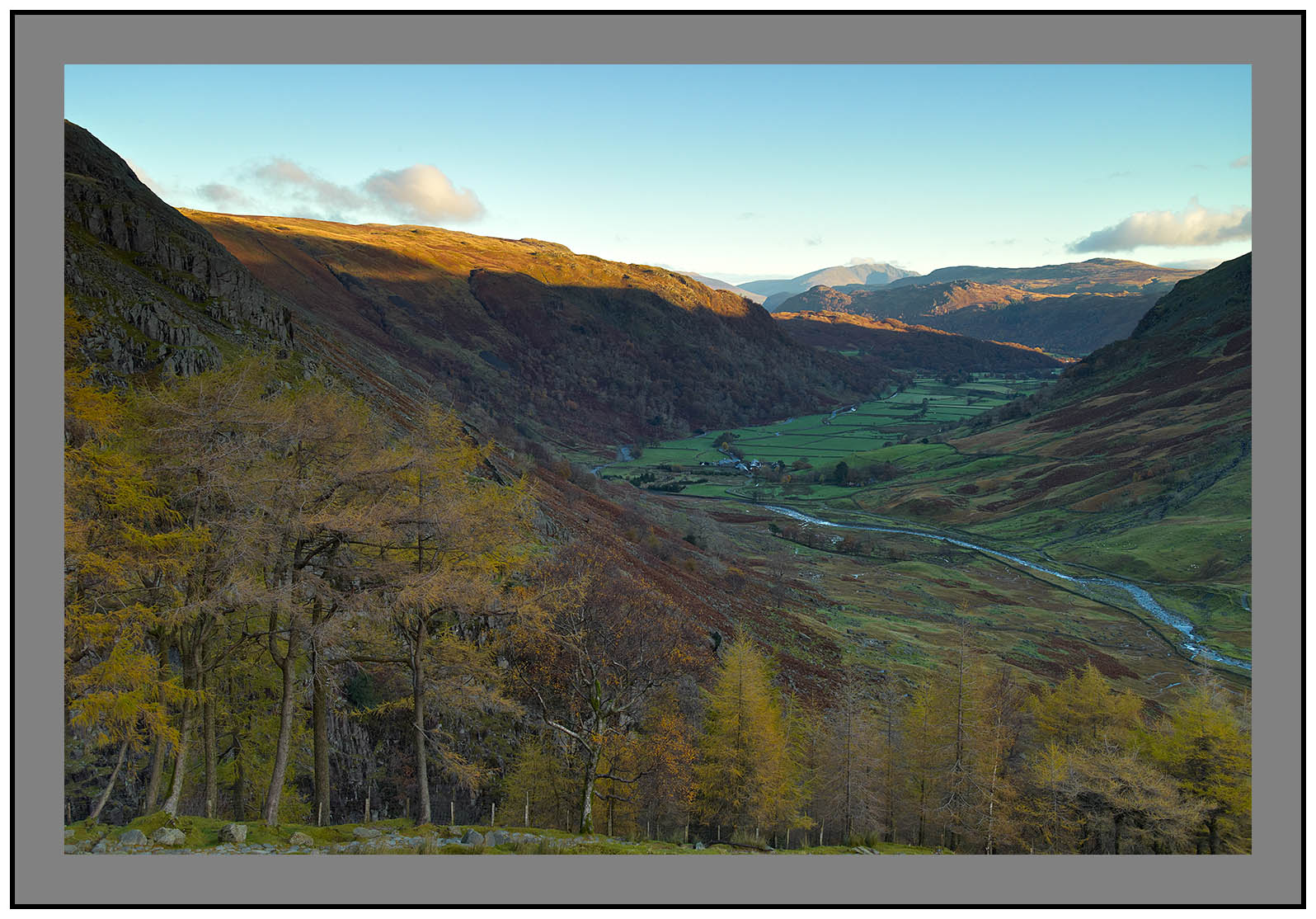 L1001382a First light on Seathwaite