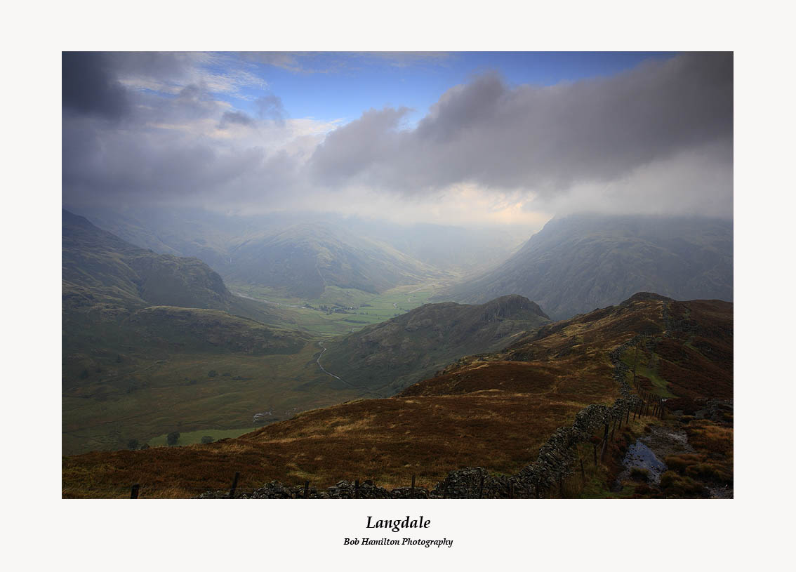 Blue Skies over Langdale-some hope after all ??
