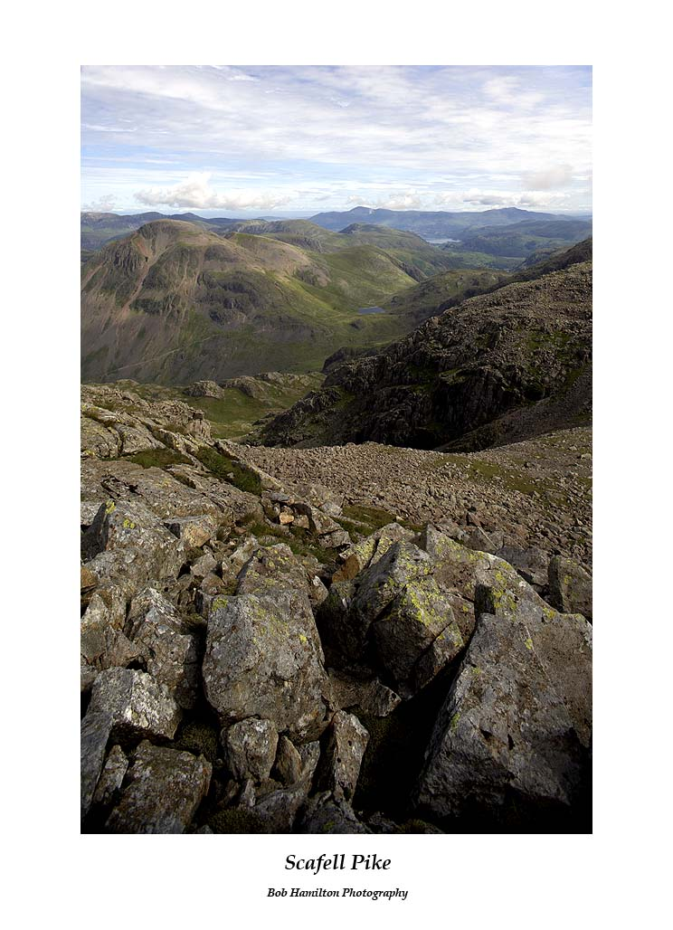 Great Gable from Scafell Pike