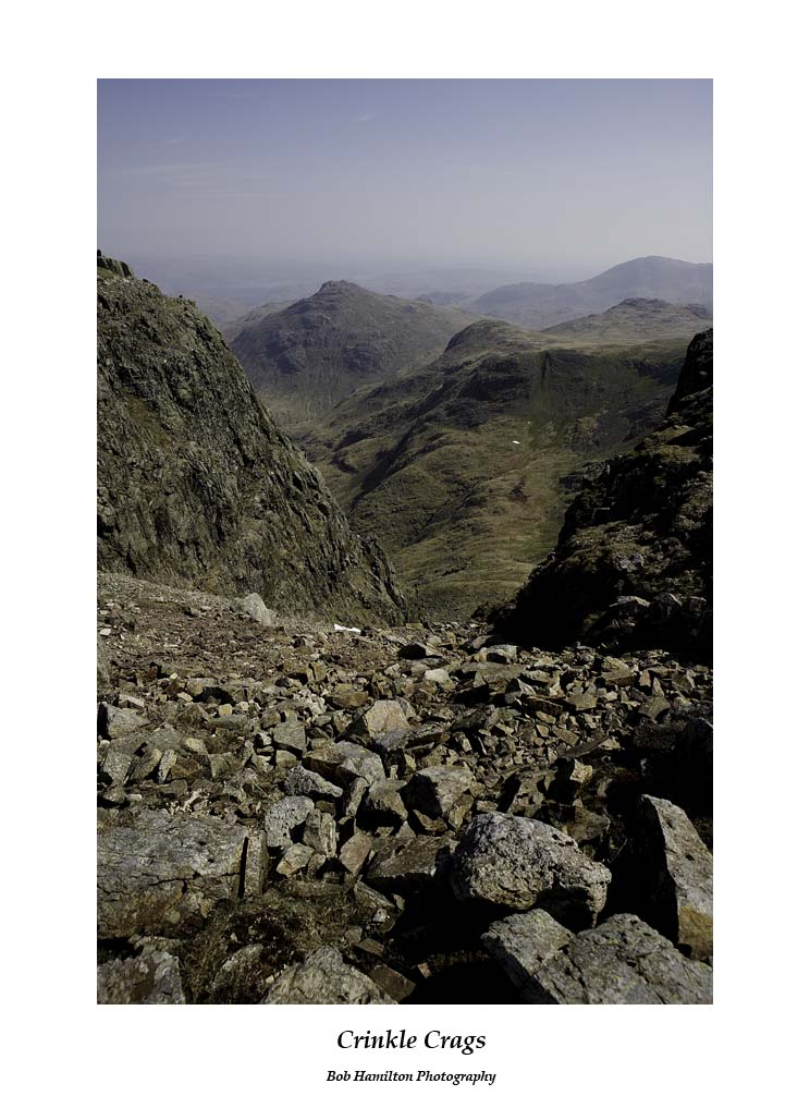 Pike O'Blisco from Crinkle Crags