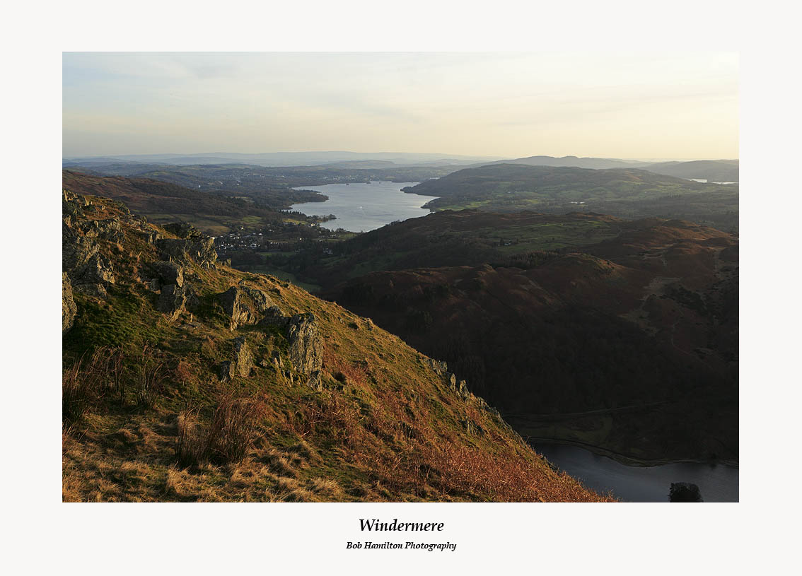 Windermere from Nab Scar