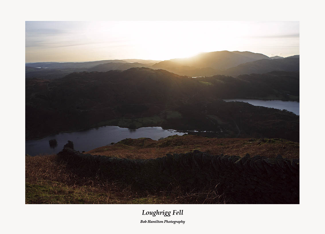 Loughrigg Fell from Nab Scar
