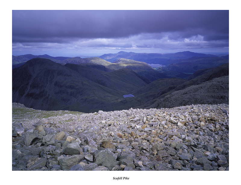 Borrowdale from Scafell Pike