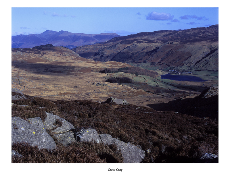Watendlath from Great Crag