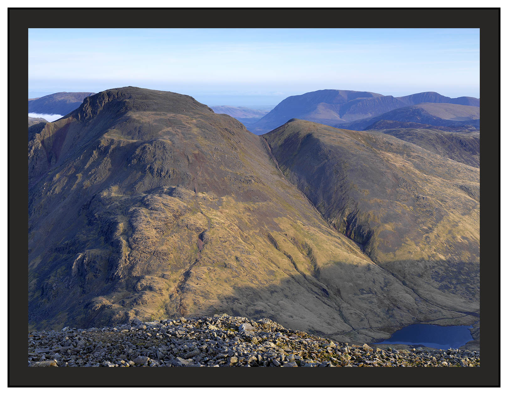 A 02269 First light on Great Gable