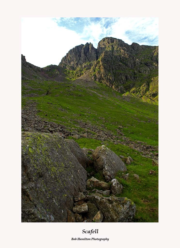 Scafell from Hollow Stones