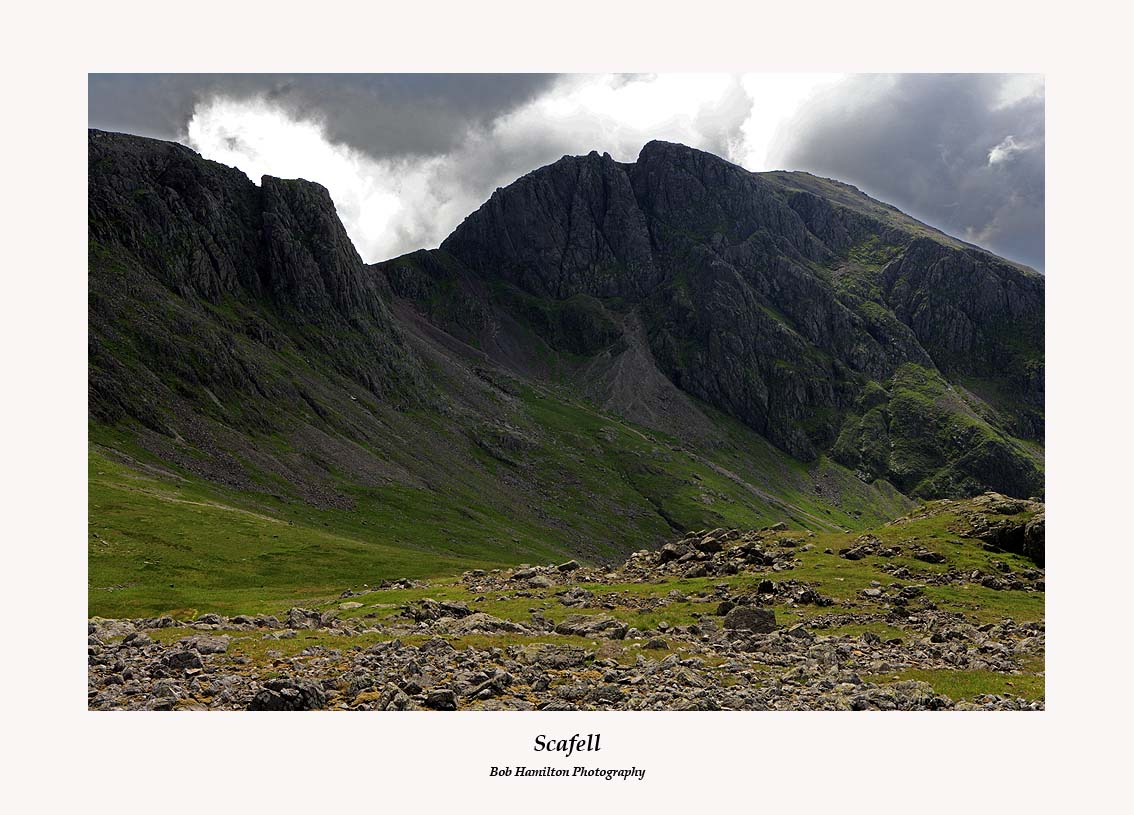 Scafell from Lingmell