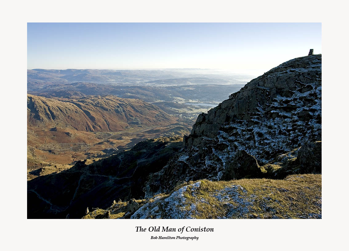 The Old Man of Coniston and Coppermines Valley