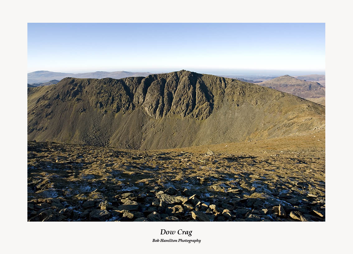Dow Crag and Harter Fell from The Old Man
