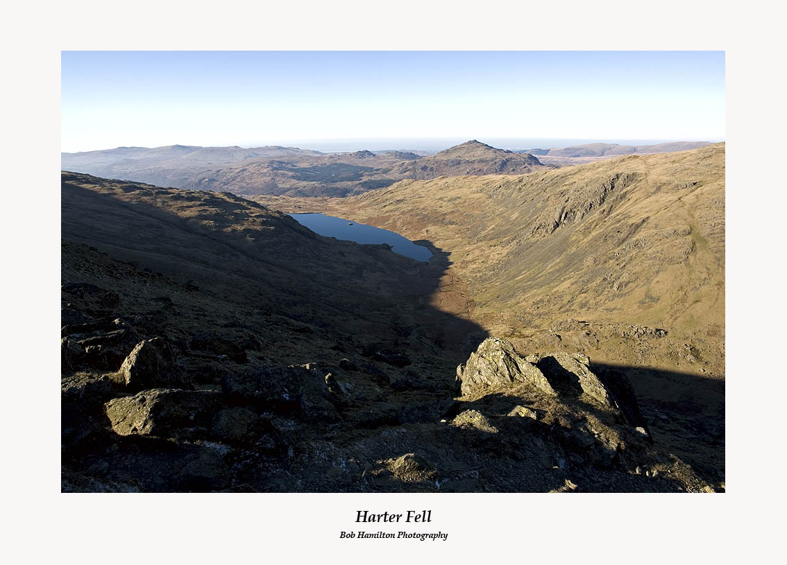 Harter Fell and Seathwaite Tarn from Brim Fell
