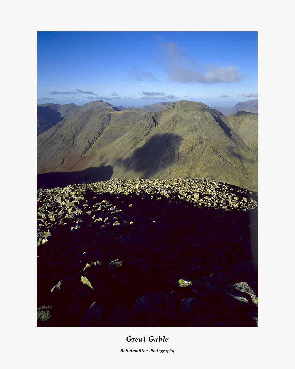 Kirk Fell and Great Gable from Great End