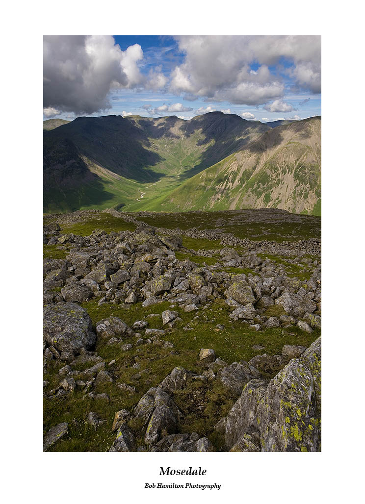 Red Pike Scoat Fell Pillar and Kirk Fell from Lingmell