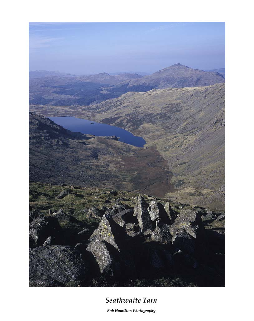 Seathwaite Tarn from Swirl How