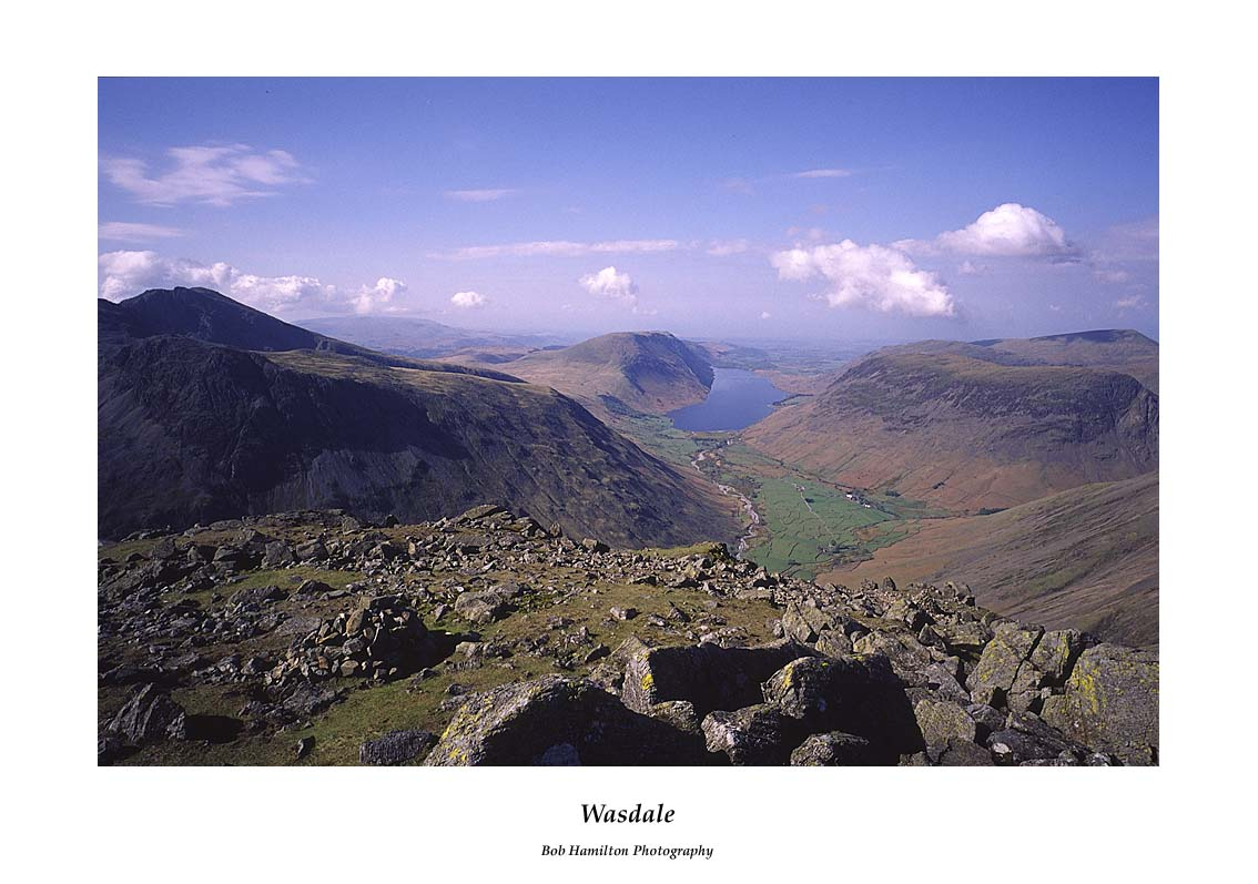 Wasdale from Great Gable