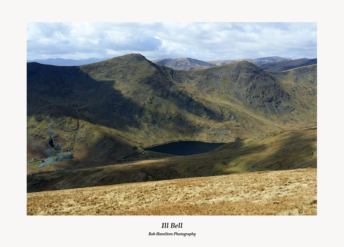 Ill Bell Froswick and Kentmere Reservoir from Shipman Knotts