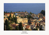Taormina from Via Leonardo da Vinci
