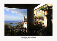 The Hotel Villa Ducale in Taormina