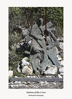 Station of the Cross Vll-Santuario della Madonna della Rocca Taormina