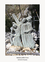 Station of the Cross V-Santuario della Madonna della Rocca Taormina