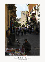 Street Sellers in the Corso Umberto Taormina