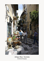 Antique Shop off Corso Umberto Taormina