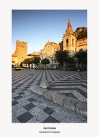 Taormina-Piazza IX Aprile at First Light