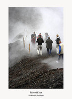 Tourists on Etna
