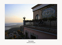 Sunset on the Hotel Villa Ducale Taormina
