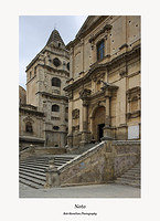 Noto-The Church of San Francesco