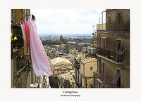 Caltagirone from the Scalazza