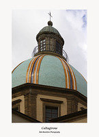 Caltagirone-Ceramic covered Church Dome