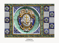 Caltagirone-Ceramic detailing on Ponte San Francesco