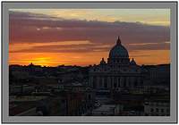 L1000806a Sunset over St Peters