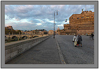 L1000849a Daybreak at Castel Sant Angelo