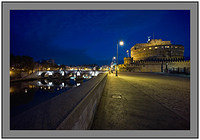 L1001029a Before dawn at Castel Sant Angelo