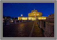 L1001031a Before dawn at Castel Sant Angelo