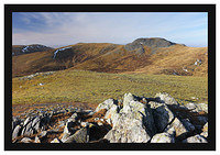 46E7967 Meall Garbh and Carn Mairg from Meall na Aighean